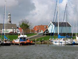 Hindeloopen, Rettungsboot und Museum