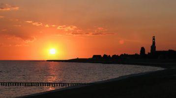 Hindeloopen Sonnenuntergang
