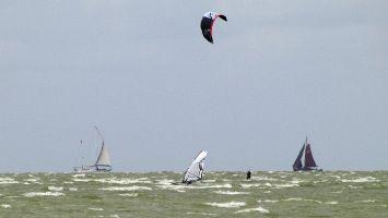 Hindeloopen, windsurfen, kitesurfen, segeln