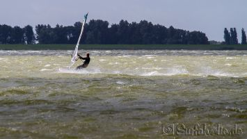 Hindeloopen, windsurfen mit 4.0