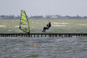 Hindeloopen, Winsurfen Kitesurfen