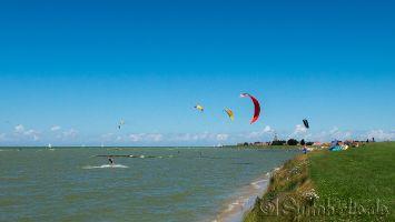Kitesurfen in Hindeloopen
