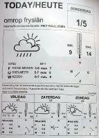 Wetterbericht, Ijsselmeer, Hindeloopen