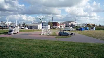 Lemmer, Parkplatz am Strand