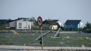 Windsurfen in Makkum