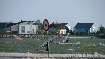 Windsurfen in Makkum