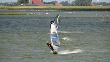 Windsurfer vor Molkwerum