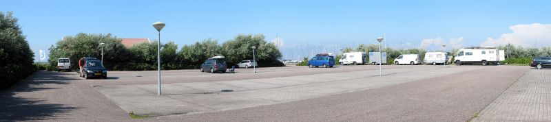 Stavoren, Parkplatz am Spot