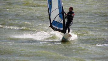 Surfer vor Stavoren