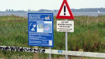 Let op! Die Schleusen vom Lauwersmeer zur Nordsee sollte man meiden.