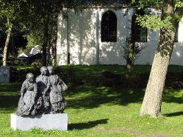 Kirche in der Nähe von Camperduin