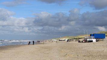 Nordseestrand zwischen Bergen an Zee und Petten