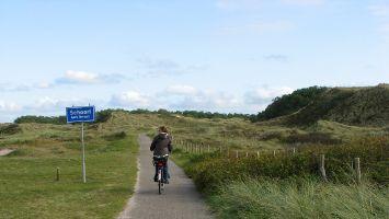 Petten, Fahrrad fahren
