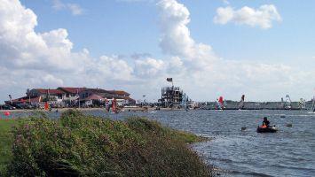 Renesse, Grevelinger Meer, Surfcentrum Brouwersdam