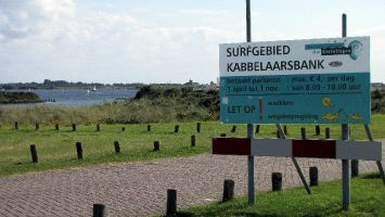 Renesse, Grevelinger Meer, Surfcentrum Brouwersdam, Kabbelarsbank