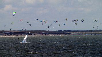 Renesse, Windsurfen, Kitesurfen, Brouwersdam