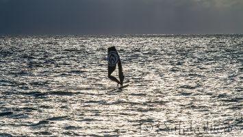 Windsurfen in Rennesse, Brouwersdam