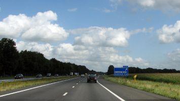 Eigene Autobahnausfahrt in Strand Horst, Veluwemeer