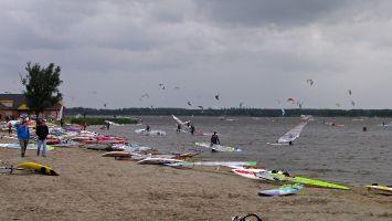 Harderwijk, Strand Horst, Fronleichnam 2012, windsurfen, kiten