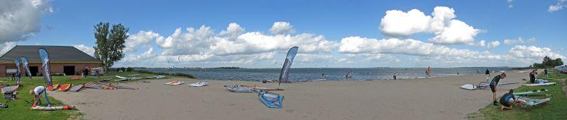 Strand Horst, 180° Panorama