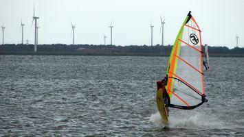 Strand Horst, Veluwemeer, Holland