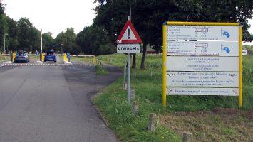 Zufahrt zu Strand Horst, Veluwemeer