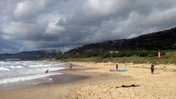 Atlantikstrand bei Tarifa, arte vida