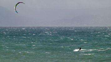 Tarifa, arte vida, kite soulsurfing