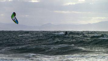 Tarifa, arte vida, Kitesurfen