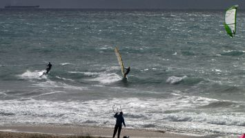 Tarifa, arte vida, windsurfen