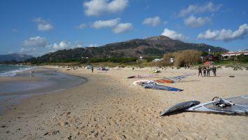 Tarifa, Atlantikstrand bei Hostal Arte Vida