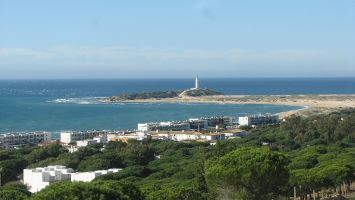 Caños de Meca, Leuchturm am Cabo Trafalgar