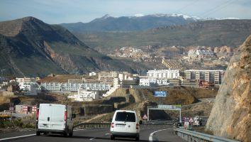 Fahrt entlang der spanischen Küste, Andalusien