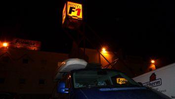 Übernachtung preiswert und O.K. in Frankreich