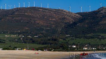 Tarifa, Las Dunas, windsurfen, kitesurfen