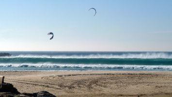 Schöne Wellen bei Levante am Balneario, Tarifa