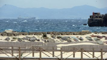 Tarifa, Playa Chica, Balenario