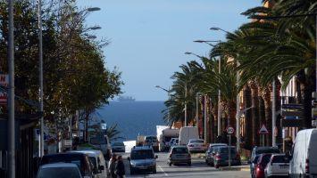 Tarifa, Andalusien, Costa del Luz, Hauptstrasse