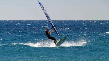 Tarifa, windsurfen bei Valdevaqueros