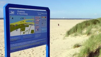 Renesse, Strand bei Ouddorp