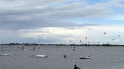 Fehmarn, windsurfen in<br />Gold