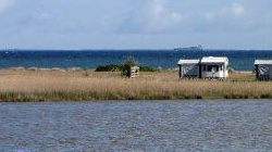 Fehmarn, Camping<br />Fehmarnbelt in Altenteil