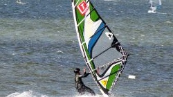 Fehmarn, windsurfen in<br />Gold. G199