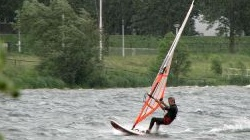 Windsurfen in Roermond,<br />Ool, Oolderplas