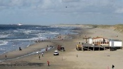 Windsurfen in Petten,<br />Strand