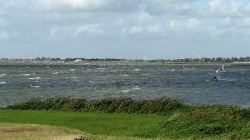 Windsurfen in Molkwerum